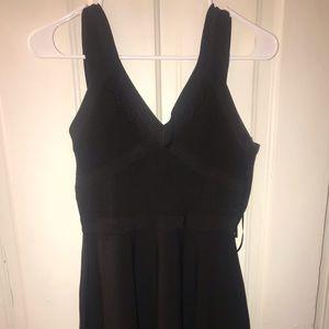 GUESS BLACK TIGHT FLARE DRESS MINI 👗